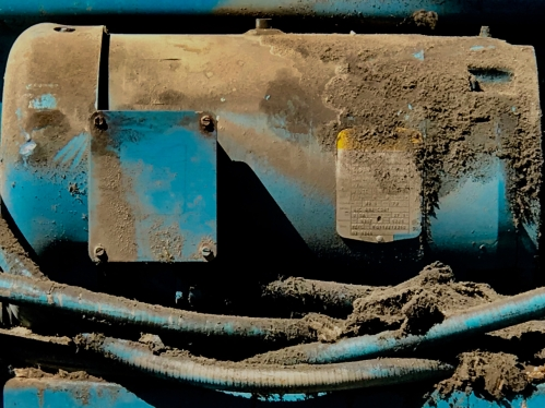 Photography: Street Photography - Mystery Machine Closeup, Low Brightness, High Saturation