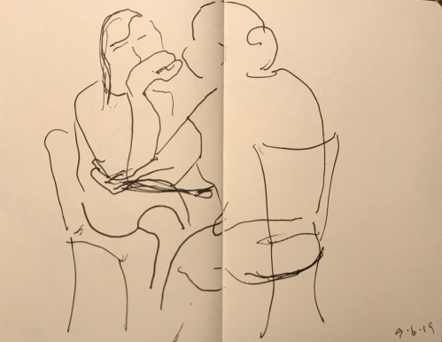 Sketch: Pen and Ink - Wrapped Attention