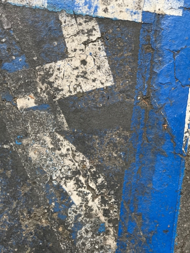 Photography: Street Photography - Random Painted Parking Lot Lines