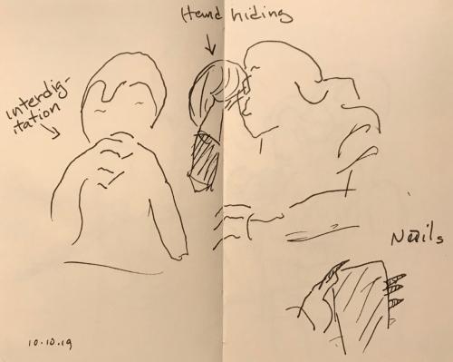Sketch: Pen and Ink - Sketched Hands