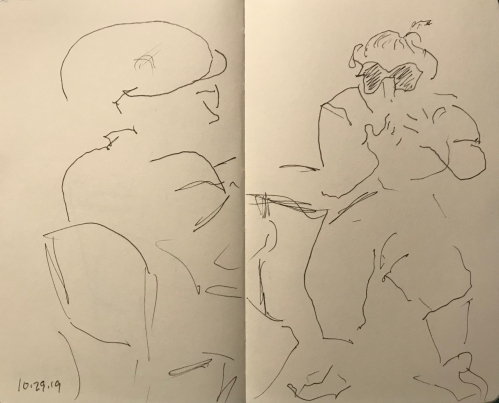 Sketch: Pen and Ink - Charades