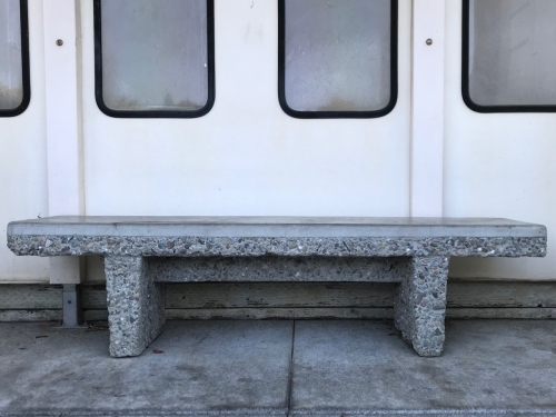 Photography: Street Photography - Concrete Bench