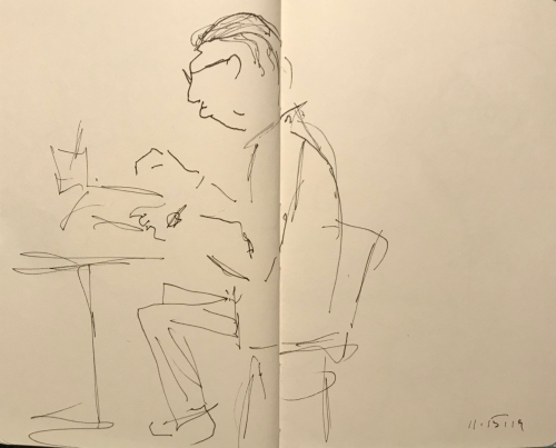 Sketch: Pen and Ink - Diligence