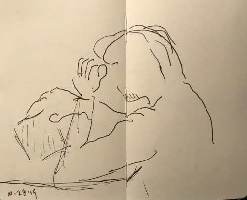 Sketch: Pen and Ink - Getting a Grip