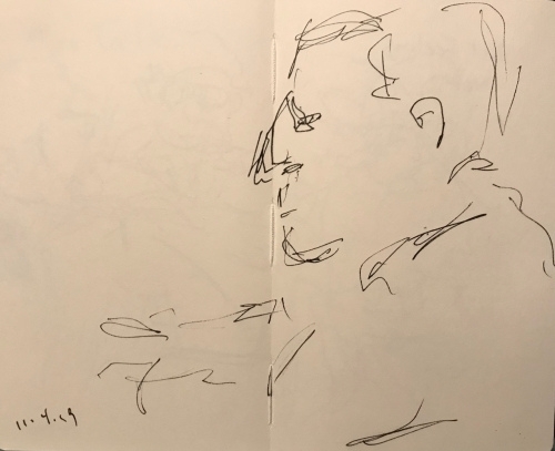 Sketch: Pen and Ink - Quick Profile