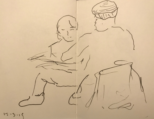 Sketch: Pen and Ink - Relaxed Stance
