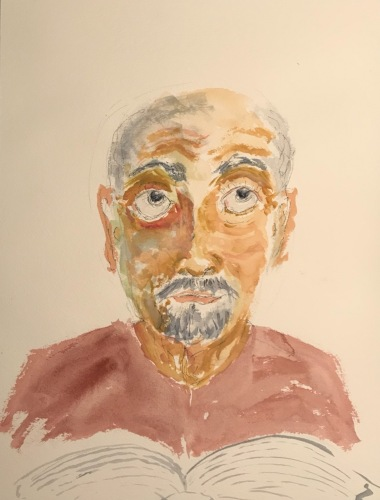Watercolor: Portrait - Can't Pay Attention