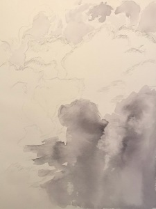 Watercolor: Clouds Stage 2