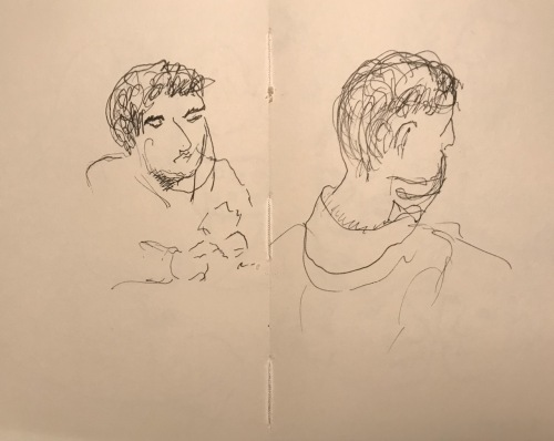 Sketch: Pen and Ink - Failed Portraits of a Child