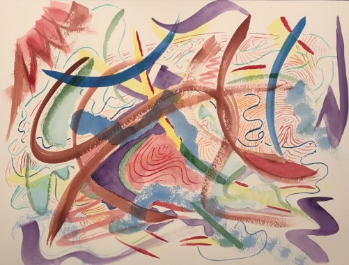 Watercolor: Abstract - Layers