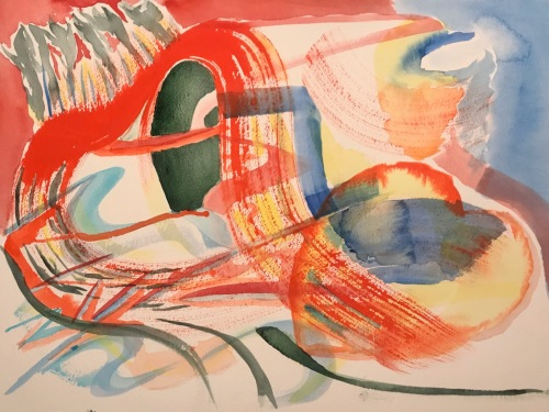 Watercolor: Abstract - Love is All Around