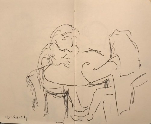 Sketch: Pen and Ink - Making a Point