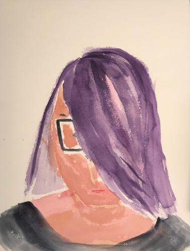 Watercolor: Portrait - Portrait from a Sketch