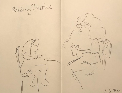 Pen and Ink: Sketch - Reading Practice