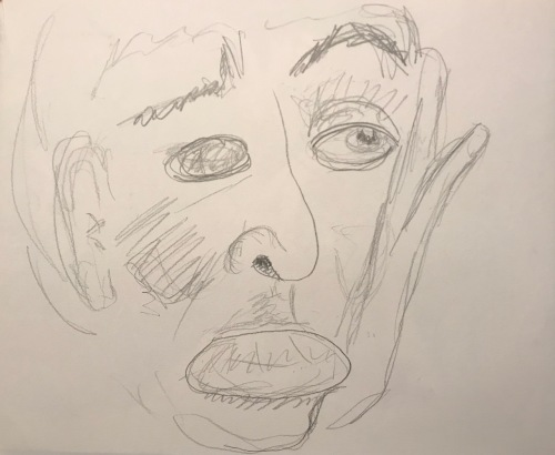 Pencil Sketch: Portrait - Undated Portrait of My Brother
