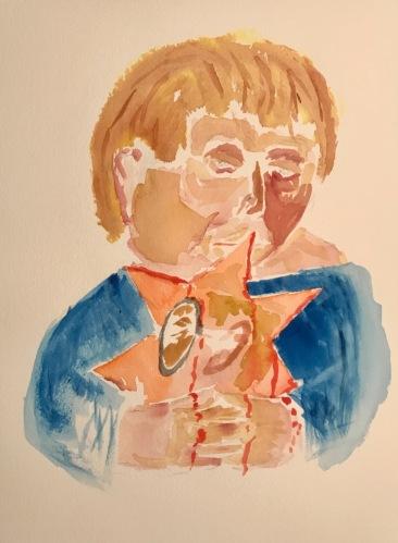 Watercolor: Portrait - Untitled Portrait