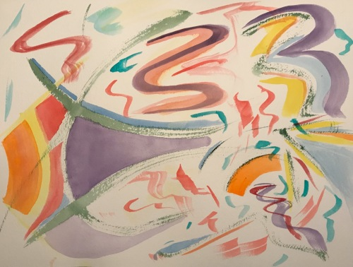 Watercolor: Abstract - Floaters