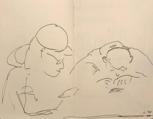 Sketch: Pen and Ink - Intensity