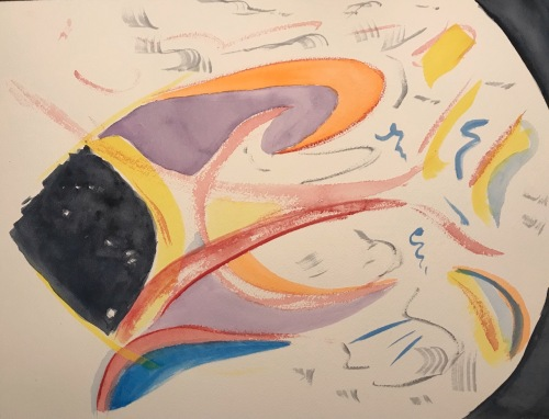 Watercolor: Abstract - Introspection