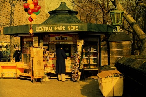 Photography: Vintage Photo: Central Park News, NYC 1991
