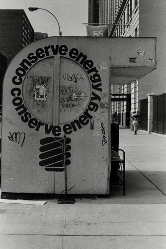 Photography: Vintage Photo: Conserve Energy Newsstand, NYC 1991