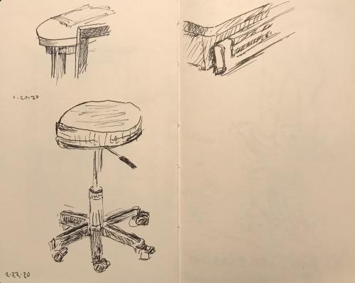 Sketch: Pen and Ink - Doctor's Office Details
