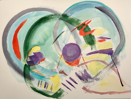 Watercolor: Abstract - Three Views