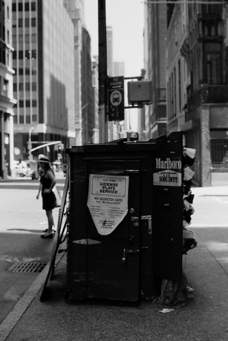 Photography: Vintage Photo: Small Newsstand, NYC Circa 1990s