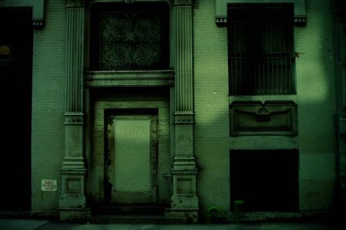 Photography: Vintage Photo: Doorway circa 1990