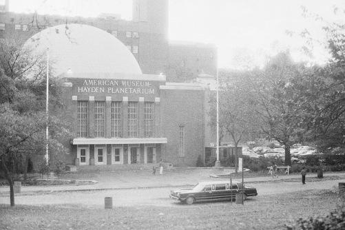 Photography: Vintage Photo: Hayden Planetarium, NYC circa 1980s