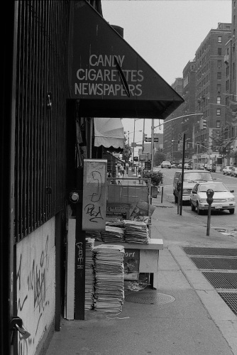 Photography: Vintage Photo: Candy Cigarets Newspapers, NYC Circa 1990s