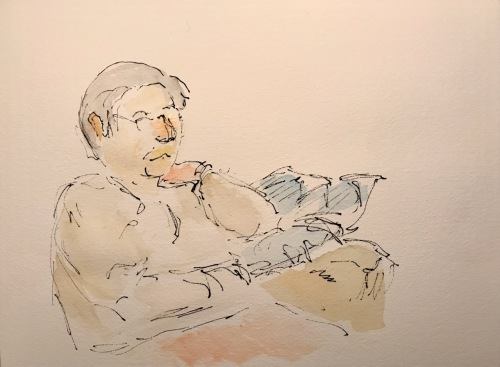 Watercolor: Figurative -Figure Drawing and Tinting during Quarantine