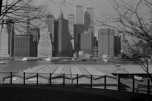 Photography: Vintage Photo: Lower Manhattan from Brooklyn Heignts, NYC 1991