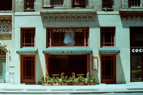 Photography: Vintage Photo: Trattoria Dell Arte, NYC 1989