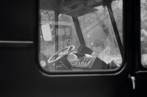 Photography: Vintage Photo: Top Hat Inside Van, NYC 1988