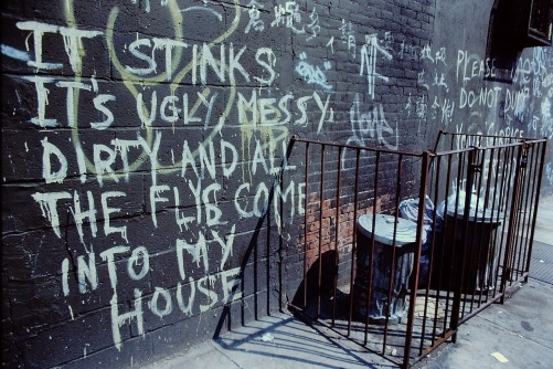 Photography: Vintage Photo: Graffiti, Lower East Side NYC 1989 05122020