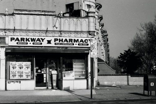 Photography: Vintage Photo: Pharmacy - Medicaid * Unions * Film & Developing, Brooklyn, NY March 1989