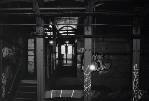 Photography: Vintage Photo: Subway and Graffiti, Brooklyn NYC 1991