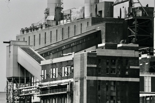 Photography: Vintage Photo: Walkways at ConEd Plant, NYC 1988