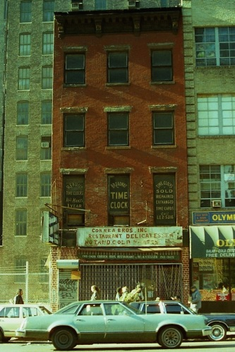 Photography: Vintage Photo: Nice Old Building at 14th Street and Irving, Now Demolished, NYC 1990