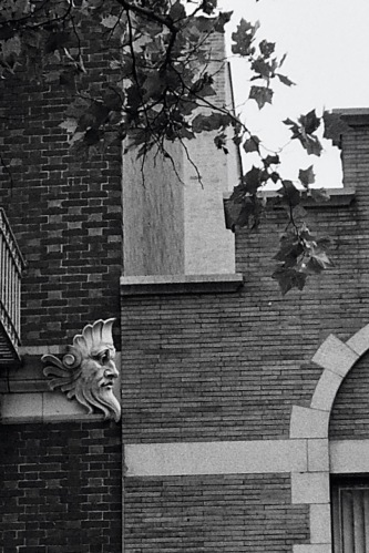 Photography: Vintage Photo: Lone Gargoyle, NYC West Village June 1988