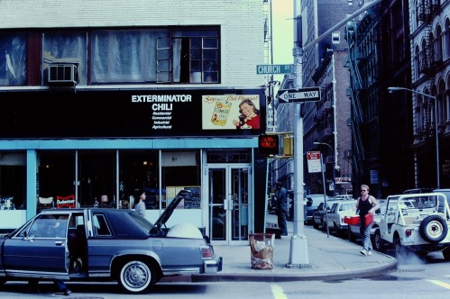Photography: Vintage Photo: Exterminator Chili NYC Downtown, May 1989