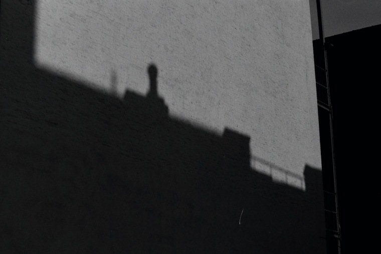 Photography: Vintage Photo: Architecture, Building, Shadow NYC 1988