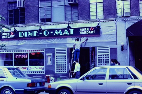Photography: Vintage Photo: Horn and Hardard Dino-O-Mat, NYC 1988