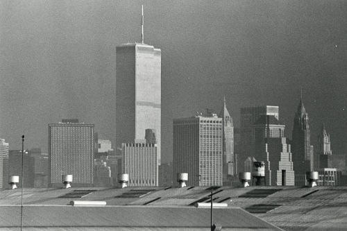 Photography: Vintage Photo: Twin Towers, on the Way to Work, NYC 1990