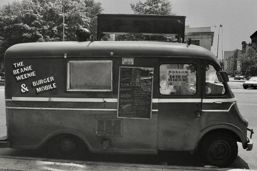 Photography: Vintage Photo: The Beanie Weenie & Burger Mobile, NYC 1991