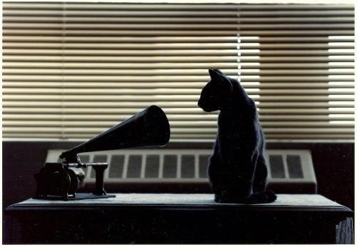 Photography: Vintage Photo: Her Master's Voice (NYC circa 1990)