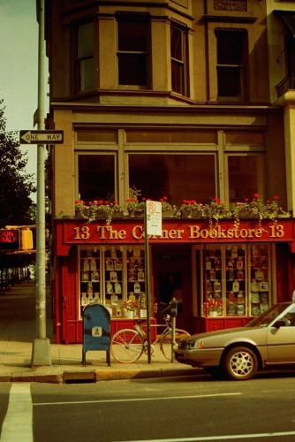 Photography: Vintage Photo: Corner Bookstore, Upper East Side, NYC 1989