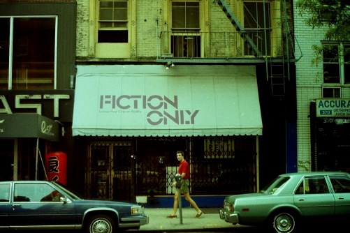 Photography: Vintage Photo:Fiction Only Bookstore, NYC 1989