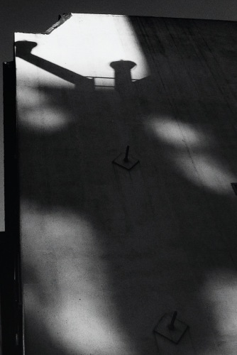 Photography: Vintage Photo: Building and Stack Shadows, NYC 1988